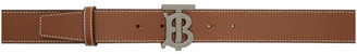 Burberry Tan Monogram Belt