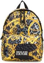 Versace baroque print backpack