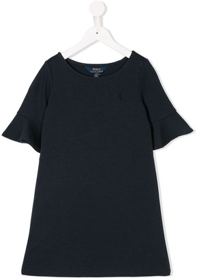 Polo Ralph Lauren flared-sleeves T-shirt dress