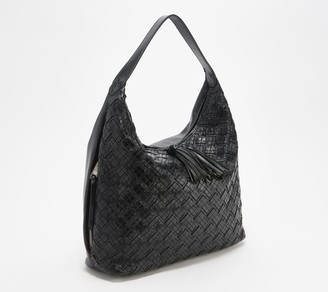 Patricia Nash Leather Braided Stitch Hobo - Marcellina