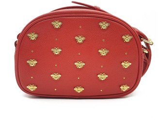 Nooki Design Bee Stud Crossbody Bag - Red