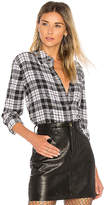 Equipment Reese Plaid Button Up in Black. - size M (also in S,XS)