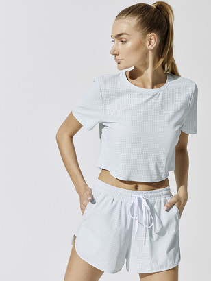 The Upside Track Cropped Tee