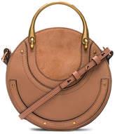 Chloé Small Pixie Shiny Goatskin, Calfskin & Suede Double Handle Bag