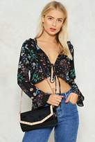 Nasty Gal nastygal WANT Pyramid Song Crossbody Bag