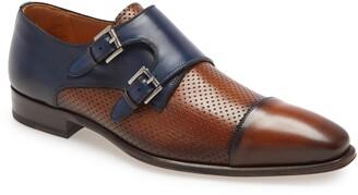 Mezlan Saber Double Monk Strap Shoe
