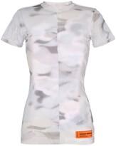 Heron Preston camouflage-print mesh T-shirt