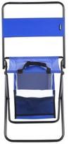 Austen Folding Camping Chair Freeport Park Cushion Color: Blue
