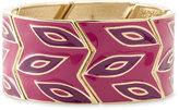Sequin Enamel Stretch Bracelet