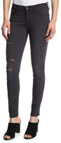 Frame Le Skinny Satine Distressed Jeans, St. Quintin Shred