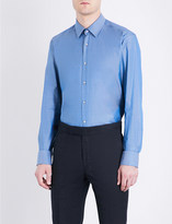 HUGO BOSS Regular-fit cotton shirt