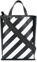 Off-White Off White diagonal stripes tote