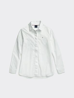 Tommy Hilfiger Solid Oxford Shirt