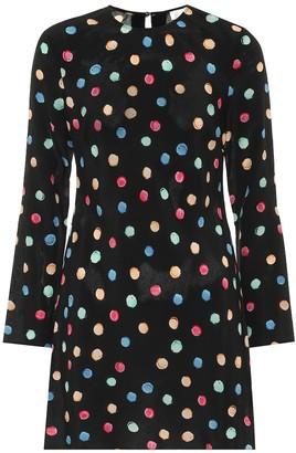 Rixo Vanessa silk-crepe dress