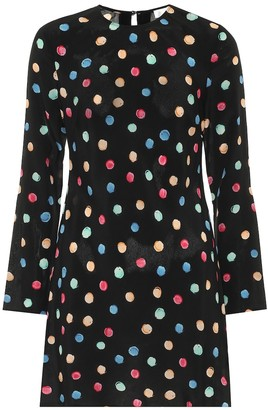 Rixo Vanessa silk-crApe dress