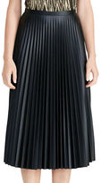 Lauren Ralph Lauren Colyn Pleated Midi Skirt