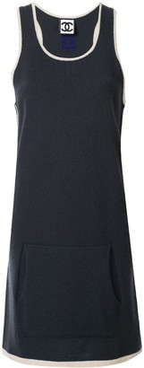 Chanel Pre Owned Sports Line sleeveless one piece dress