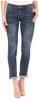KUT from the Kloth Catherine Boyfriend Jeans in Worldly w/ Medium Base Wash Women's Jeans