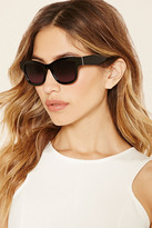 Forever 21 FOREVER 21+ Thick-Framed Square Sunglasses