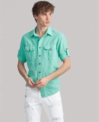 Ralph Lauren Classic Fit Linen-Blend Shirt