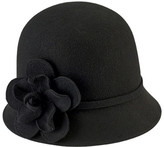 San Diego Hat Company Women's Cloche Bucket Hat with Flower WFH8035
