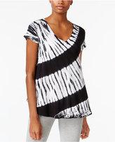 Calvin Klein Tie-Dyed V-Neck T-Shirt