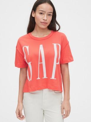 Gap Soft Logo Boxy T-Shirt