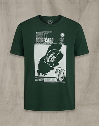 Belstaff TT SCORECARD T-SHIRT Green