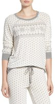PJ Salvage Women's Crewneck Print Sweatshirt