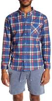 RVCA Plaid Slim Fit Shirt