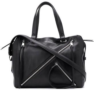 Karl Lagerfeld Paris Zip Tote Bag