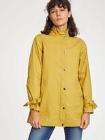 Thought - Kesha Organic Cotton Raincoat In Mustard Yellow - 10