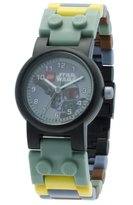 Lego Kids' 9003363 Boba Fett Watch With Minifigure