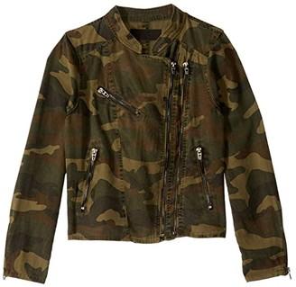 Blank NYC Kids Camouflage Jacket (Big Kids) (On Duty) Girl's Coat