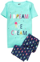 Crazy 8 Ice Cream 2-Piece Shortie Pajama Set