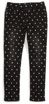 Vigoss Toddler Girl's Polka Dot Skinny Jeans