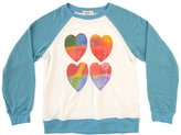 Wildfox Couture Youth Girl's Gradient Hearts Sommer Sweater