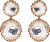 Larkspur & Hawk Large Olivia Day and Night Quartz Drop Earrings