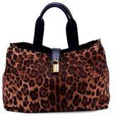 Dolce & Gabbana Leopard-Print Tote