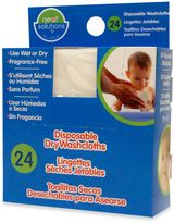 Neat Solutions 24-Pack Disposable Dry Washcloths