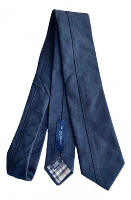 Burberry Blue Cotton Ties