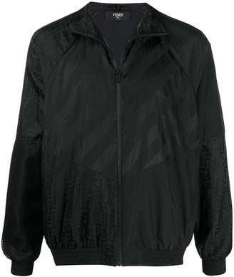 Fendi Monogram Stripe Lightweight Jacket