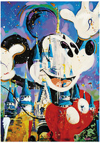 Disney ''Mickey and Castle'' Giclée by Randy Noble