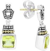 Lagos Women's 'Caviar Color' Square Semiprecious Stone Drop Earrings
