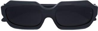 Kuboraum Geometric Tinted Sunglasses