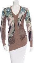 Jean Paul Gaultier Printed Asymmetrical Top