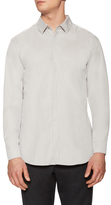 Jil Sander Solid Spread Collar Sportshirt
