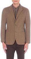 Corneliani Twill Weave Wool And Cashmere-blend Jacket