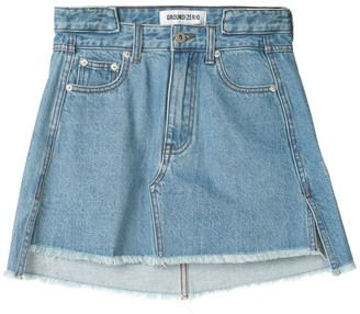 Ground Zero Denim Mini Skirt
