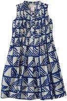 Masala Rivoli Dress (Toddler/Kid) - Blue-6 Years